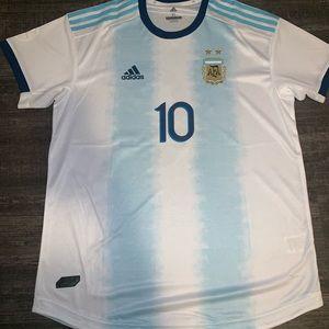 Argentina Messi jersey